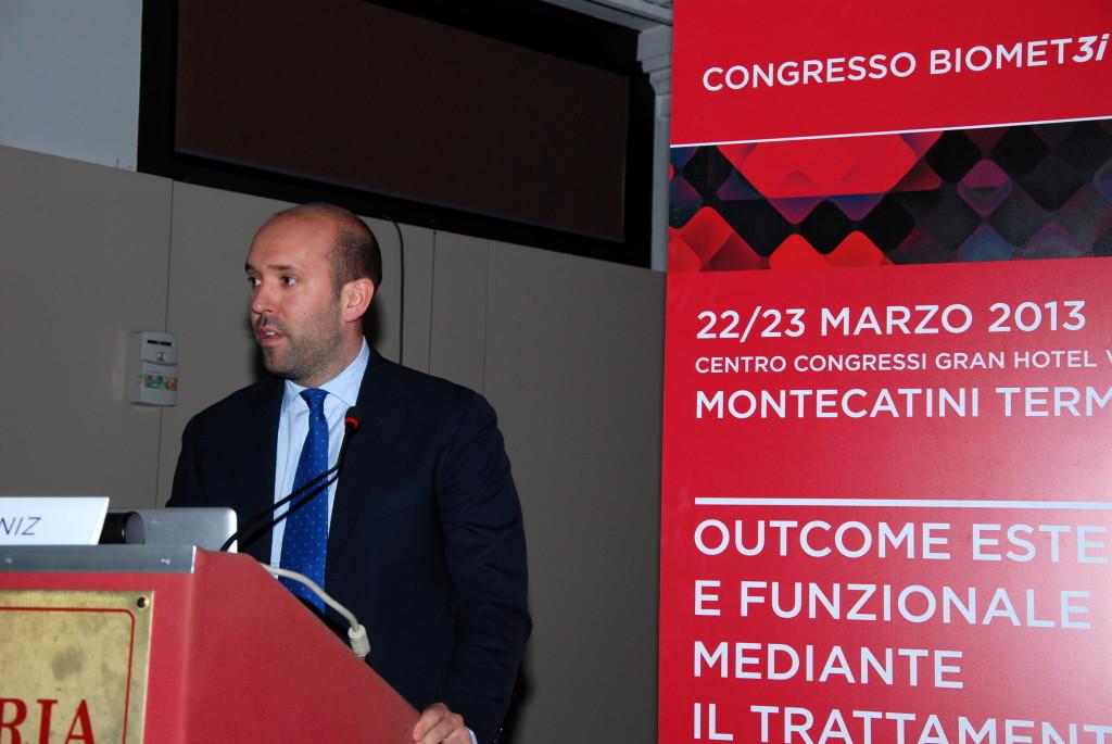 Gianluca Paniz è speaker al Congresso Nazionale Biomet 3i